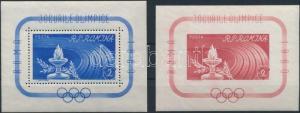 Romania stamp Summer Olympics blockpair MNH 1960 Mi 46-47 WS193928