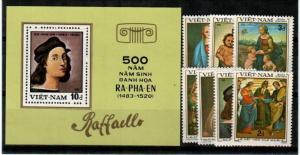 Vietnam Scott 1289A-H Mint NH (Catalog Value $19.50)