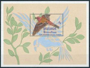 [108801] Grenada Grenadines 1993 Bird vogel oiseau Pine Grosbeak Sheet MNH