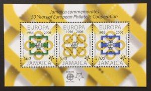 Jamaica 2005 #1015a S/S, Europa 50th Anniversary, MNH.