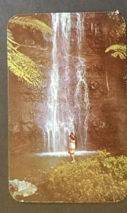 Tahiti French Polynesia Rancho Santa Fe California Plastichrome Postcard Cover