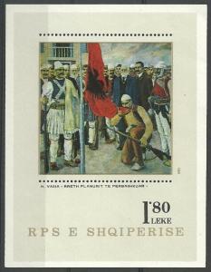 1981 Albania (SHQIPERIA) B73 Paintings 4,50 €