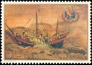 Yugoslavia #979-984, Complete Set(6), 1969, Art, Ships, Never Hinged