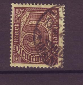 J20647 Jlstamps 1920-1 germany used #o13 numeral official