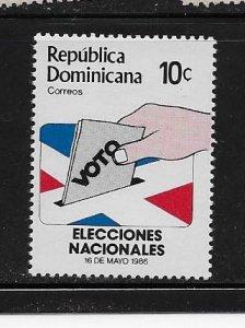 DOMINICAN REPUBLIC STAMP MNH #JULIO CV15