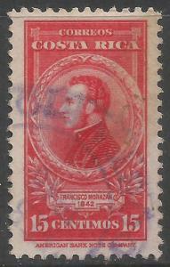 COSTA RICA 228 VFU Z6-184-3