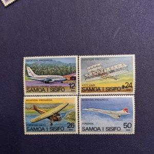 Samoa 466-9 VFNH complete set, CV $1.90