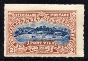 STAMP STATION PERTH  New Hebrides #Local Inter Island MH