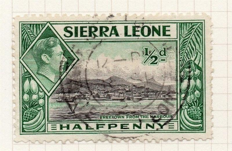 Sierra Leone 1938 Early Issue Fine Used 1/2d. 274748