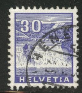 Switzerland Scott 225 used 1934 stamp CV$2