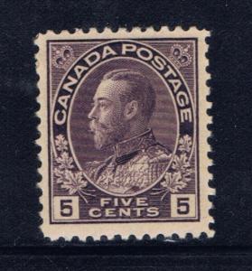 Canada 112 Hinged 1922 KGV
