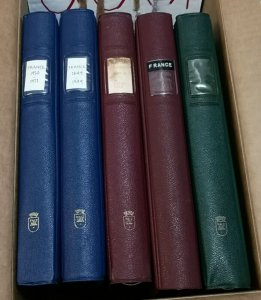 1 LINDNER 4 RING ALBUMS  various  colors, VERY GOOD CONDITION