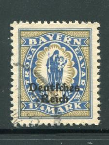 Germany Error  Mi #130pfIV VF