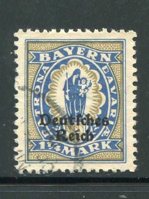 Germany Error  Mi #130pfIV VF