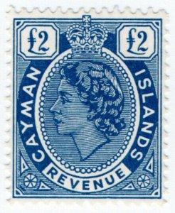 (I.B) Cayman Islands Revenue : Duty Stamp £2