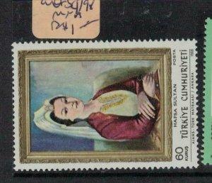 Turkey Art SC 1798 MNH (5euq)