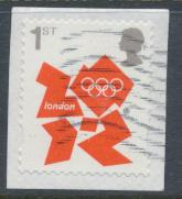 GB SG 3251  SC# 2981 Olympics 2012 Used  self adhesive on piece