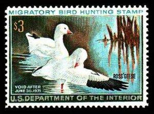 U.S. REV. DUCKS RW37  Mint (ID # 63471)