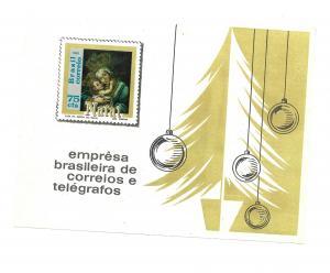 Brazil 1969- MNH - Souvenir Sheet - Scott #1147 *