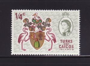 Turks and Caicos Islands 181 MNH Coat of Arms (B)