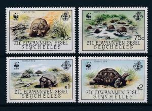 [54208] Seychelles Zil Elwannyen Sesel 1987 Reptiles WWF Turtles MNH