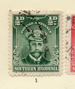 St Kitts Nevis 1920s Early Issue Fine Used 1/2d. NW-170453
