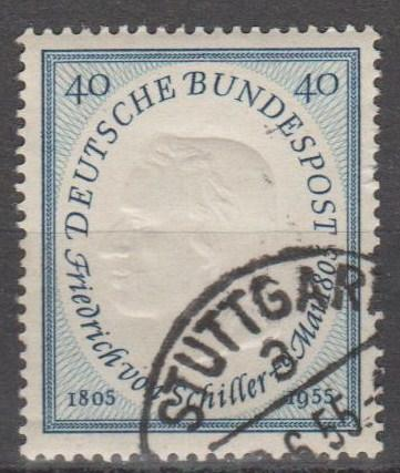 Germany #727 F-VF Used CV $5.50 (B11964)