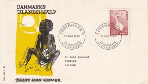 DEFD15) 1962 Denmark - Aid For Developing Countries FDC