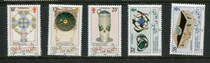Isle Of Man #384-8 Mint