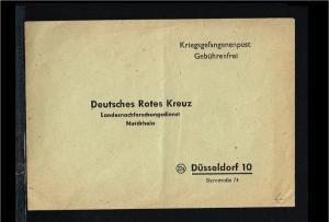 Allied Occupation Cover - Kriegsgefangenenpost Umschlag ungebraucht [B03_062]