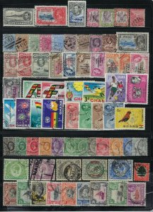 BRITISH AFRICA HIGH QUALITY SELECTION-500++  ALL USED- ASCENSION TO ZANZIBAR