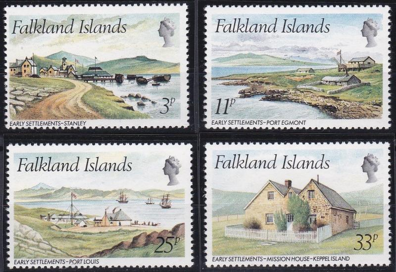 Falkland Islands 310-313 MNH (1980)