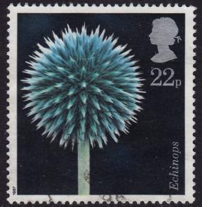 GB - 1987 - Scott #1169 - used - Flora