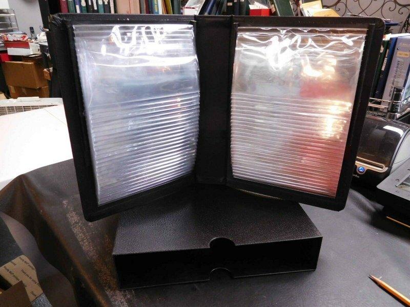 White Ace 50 Pouch Flip Album & Hard Plastic Dust Case Dust Jacket