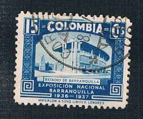 Colombia 449 Used Stadium at Barranquilla (BP45)