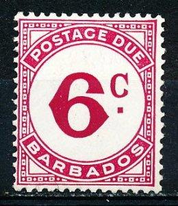 Barbados #J6 Single MNH