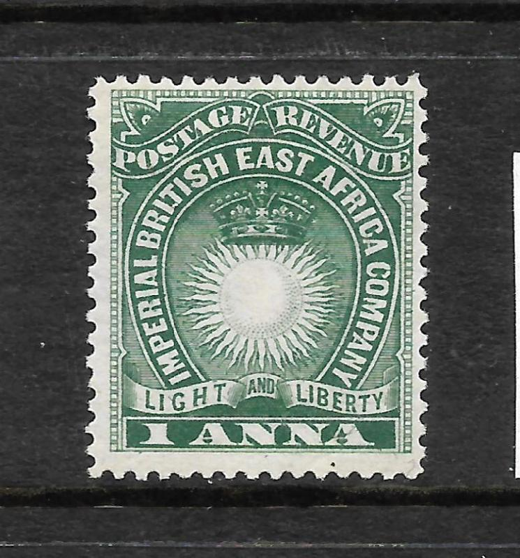 BRITISH EAST AFRICA  1890-95   1a   GREEN    MLH   SG 5