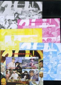 Pope John Paul II,Kennedy,De Gaulle Color proofs + original