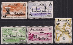Ascension Island 1979 QE2 Set Anniv East Telegraph Umm SG 229 - 232 ( R609 )