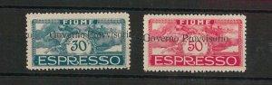 47729 - ITALIA : FIUME  - VARIETA' - Sassone Espressi 5p / 6p NON  LINGUELLATI
