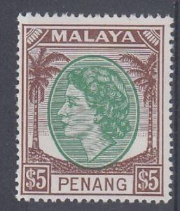 Malaya: Penang Scott 44 Mint NH (Catalog Value $47.50)