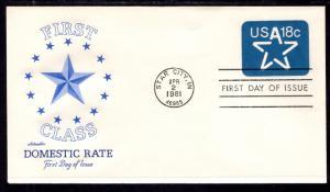 US U593 Star Artmaster U/A FDC