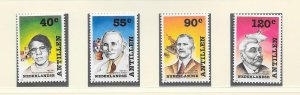NETHERLANDS ANTILLES #611-15  SOCIAL FIGURES  MNH