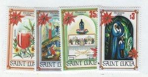 St. Lucia   Mh  sc#  702-705