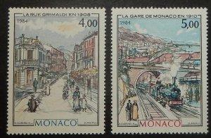 Monaco 1436-37. 1984 Belle Epoch Paintings, NH