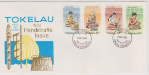 Tokelau Islands 1982 Handicrafts Issue First Day Cover
