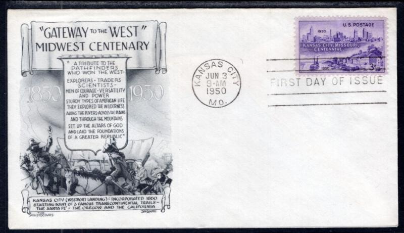 US 994 Kansas City,MO Aristocrats U/A FDC