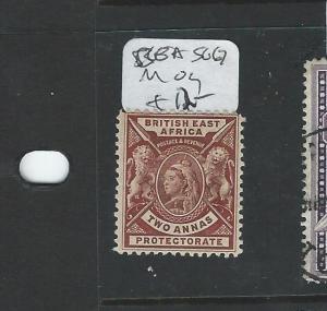 BRITISH EAST AFRICA (P0706B)  QV LION 2A  SG67  MOG