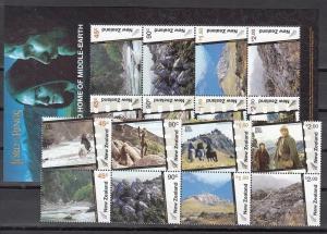 New Zealand Scott 1963b-c Mint NH (Catalog Value $32.00)