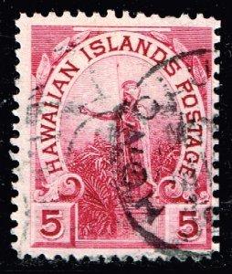 US STAMP HAWAII 5C USED STAMP